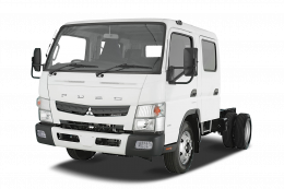 Mandataire MITSUBISHI CANTER CLASSIC CHASSIS DOUBLE CABINE