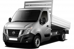 Mandataire NISSAN NV400 CHASSIS CABINE + BENNE 2019
